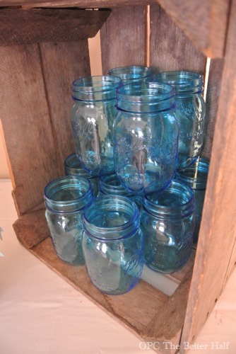 Heritage Blue Ball Mason Jars - OPC The Better Half