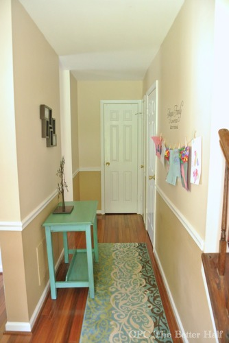 """""""After"""" Painted Hallway Table from OPC The Better Half"""