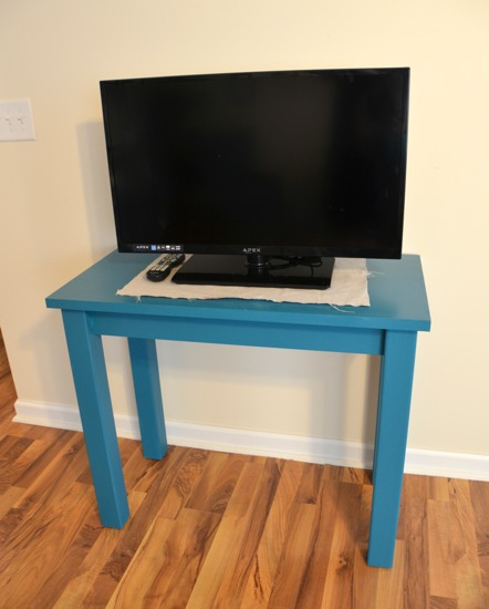 TV stand - One Project Closer