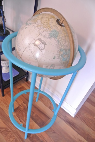Painted globe - One Project Closer