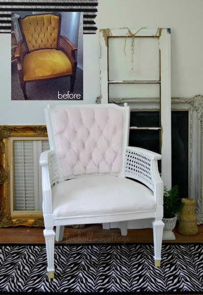before-and-after-velvet-painted-upholstery-makeover