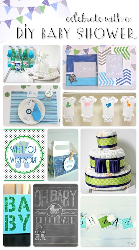 DIY baby shower - One Project Closer