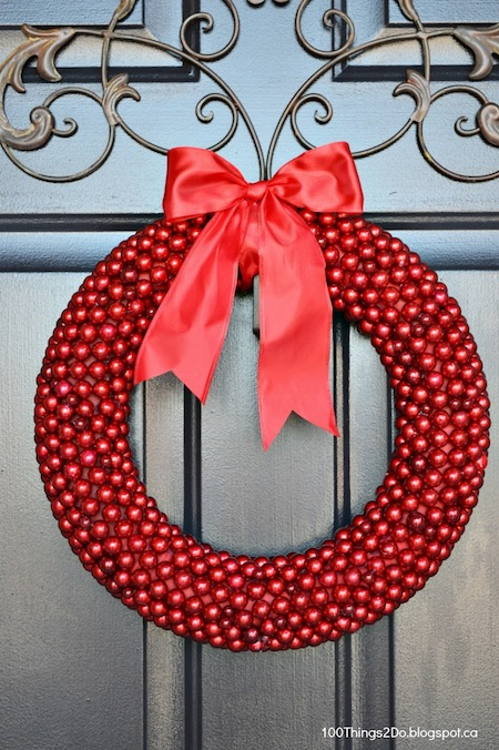 Berry Wreath 08