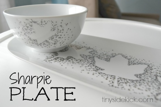 sharpie-plate-leaf-silhouette