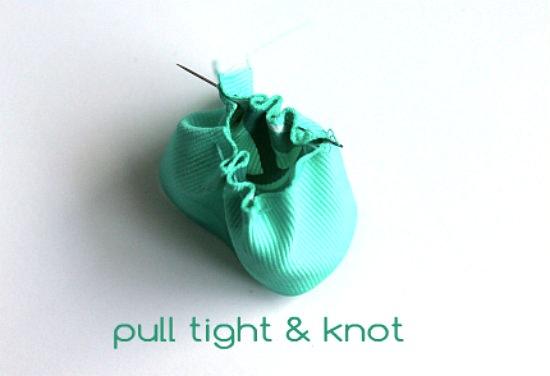 pull tight