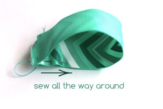 sew all around