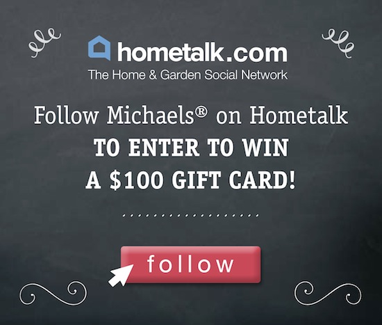 Michaels-/hometalk-giveaway