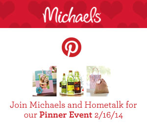 Michaels/Hometalk pinterest party
