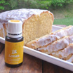 {Healthier} Iced Lemon Pound Cake