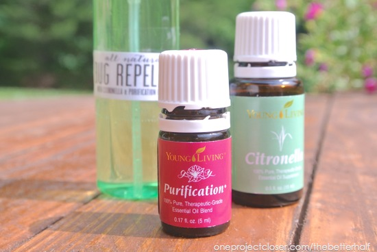 easy Bug Repellent with Essential oils