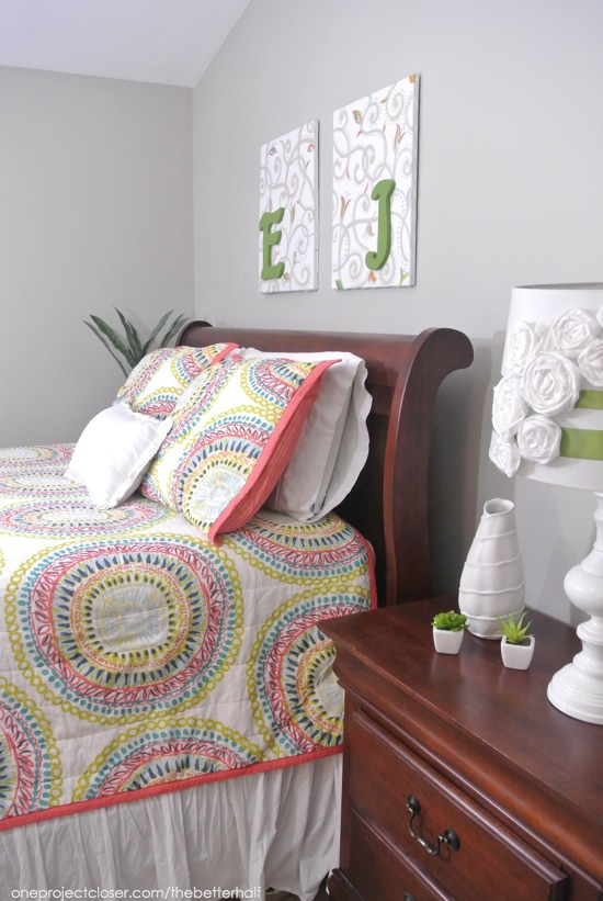 Easy Bedroom Makeover from One Project Closer