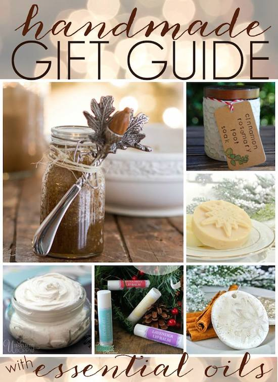 Homemade Holiday Gift Ideas Lotion Bars With Essential