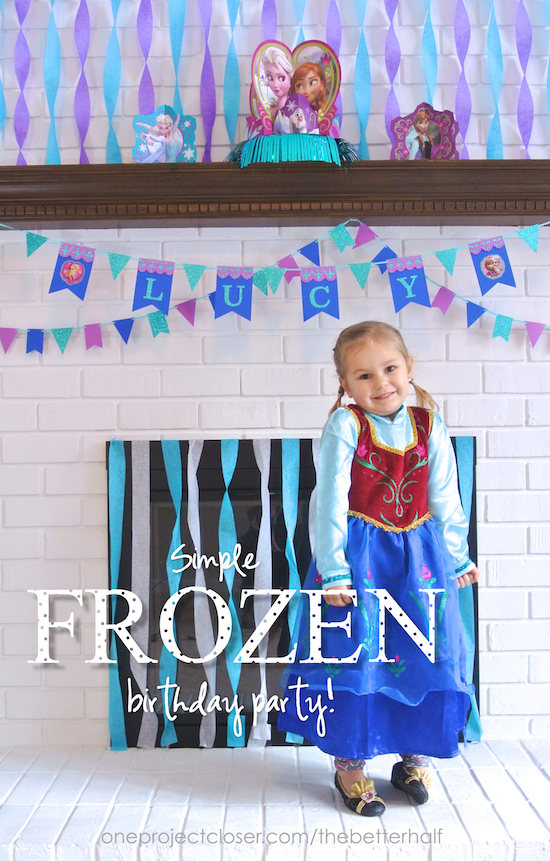 Lucy S Simple Frozen Birthday Party