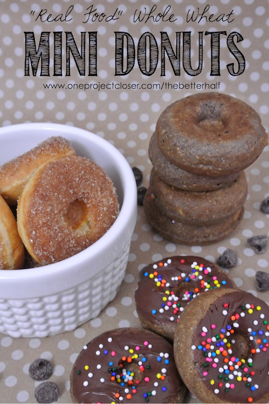 Real-food-whole-wheat-donuts-from-One-Project-Closer