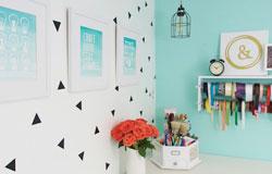 Basement Craft Room Makeover
