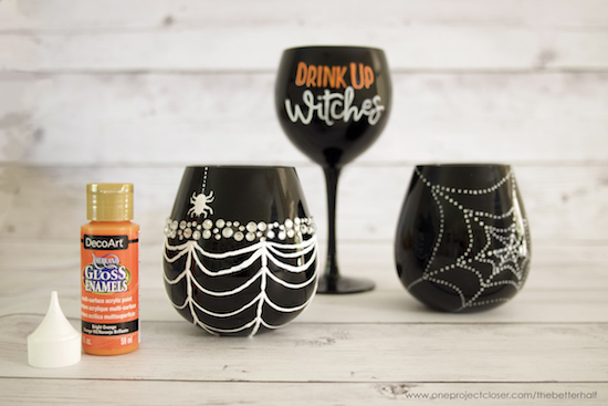 DIY-Halloween-Wine-Glasses-from-One-Project-Closer