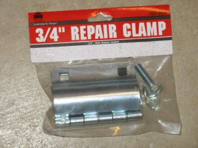For Very Small Leaks Also Known As Pinhole One Easier Solution Is To Use A Repair Clamp Purchased At Your Local Home Improvement About