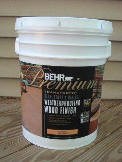 behr premium deck fence weatherproofing sealer review one