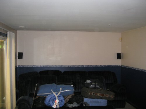 basement main room before