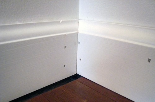 How To Cut Baseboard Molding With A Coping Saw One
