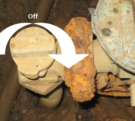 How To Turn Off Your Water Using The Main Cutoff Valve On