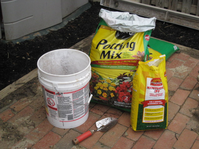 grass seeding supplies