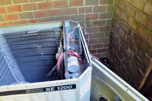 electric how to clean an outdoor air conditioning coil (trane unit example trane xe 1100 wiring diagram at fashall.co