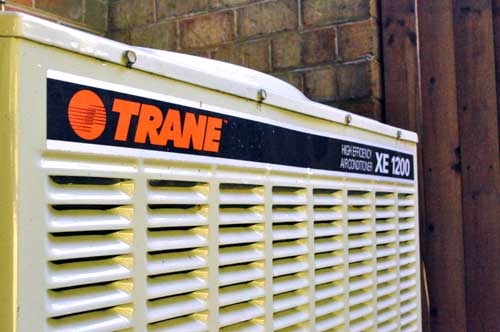 How to Clean an Outdoor Air Conditioning Coil (Trane unit