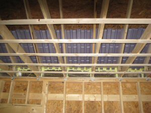 How To Strap A Ceiling Before Installing Drywall One Project Closer