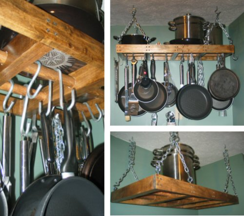 pot rack collage