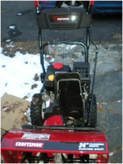 crafstman 24-inch snowblower