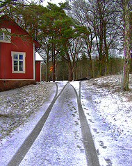 house-with-snow-tracks