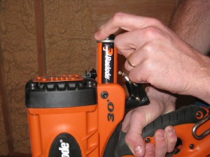 paslode framing nailer with fuel cell