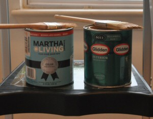 Martha Stewart And Glidden Paint Cans