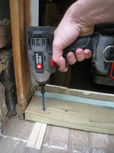 installing-a-new-rough-in-sill