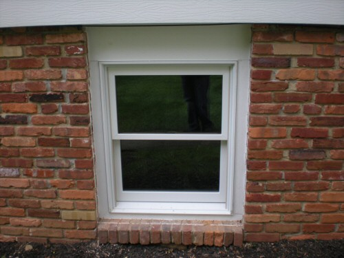 How to install a replacement window one project closer for Exterior window trim for brick home