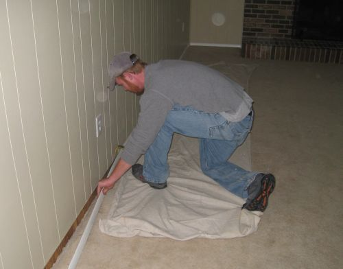 Baseboard Removal