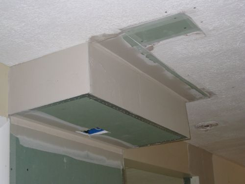 Drywall Bulkhead Finishing