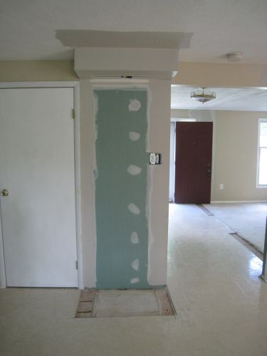 Drywall Pantry Removed