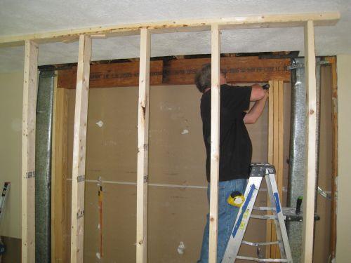 Laminated Veneer Lumber LVL Beam Installation