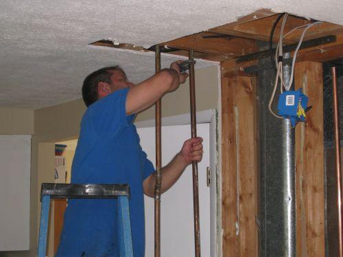 Plumbing Pipe Cut