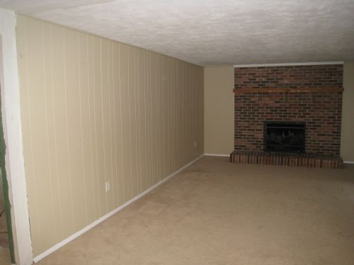 Prep for Load Bearing Wall Removal in Family Room