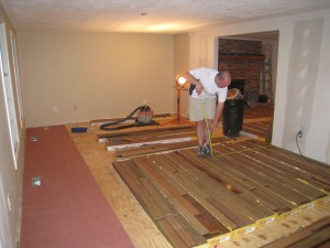 Acclimate Solid Hardwood Floors