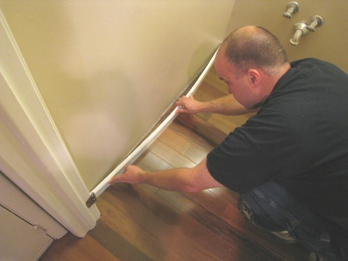 How To Install Baseboard And Shoe Molding For Hardwood Floors One
