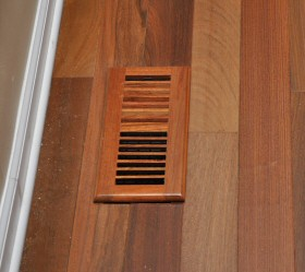 Install Hardwood Floors Around Heating Amp A C Vents One