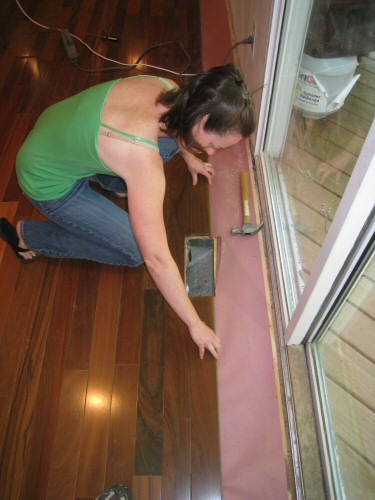 put-hardwood-boards-on-both-sides-of-the-vent