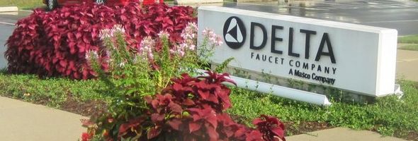 Delta Faucet Headquarters Outdoor Sign