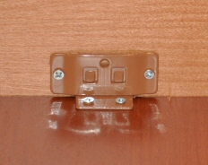 kitchen cabinet L bracket