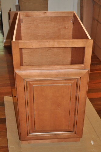 solid wood maple cabinet