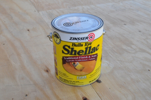 can of zinsser shellac